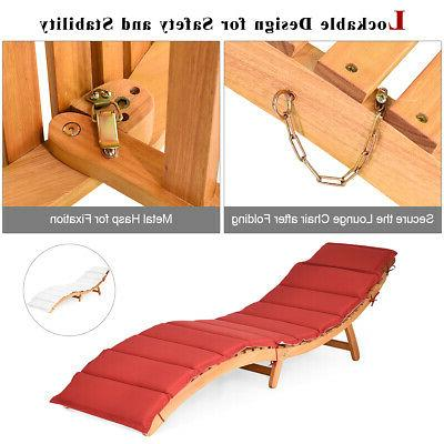 Folding Outdoor Chair Pad