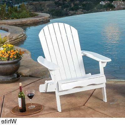 Hanlee Outdoor Adirondack Chair by