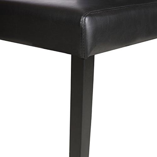 Mecor Leather Chairs with Legs Elegant Backrest,Set