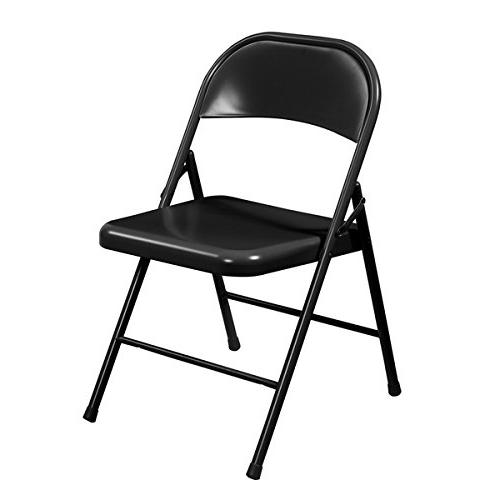 NPS Commercialine Folding Chair Black