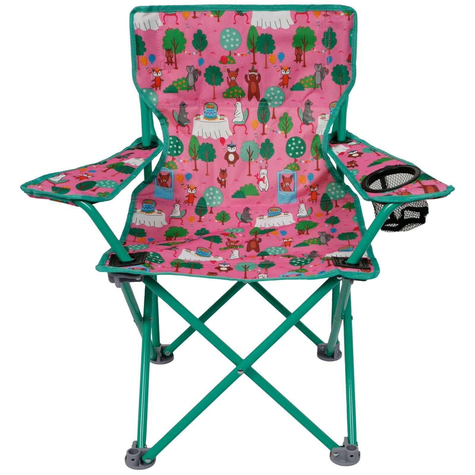 OUTDOOR CAMPING PRINTED FOLDING CHAIR Kids Portable Seat Stu