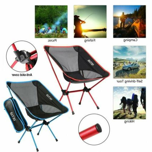outdoor camping ultralight portable folding fishing chair