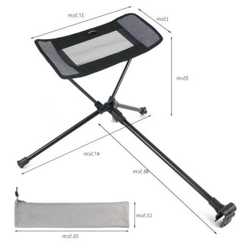 Outdoor Portable Foot Stool Pedal Universal