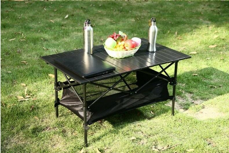 Outdoor table barbecue rack picnic chair