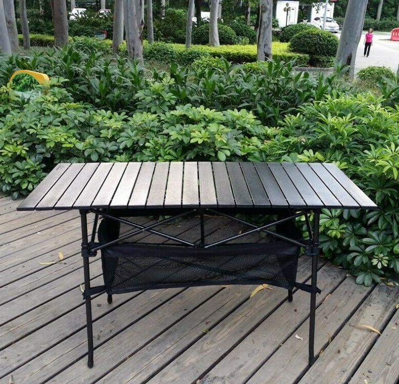 Outdoor folding barbecue rack can lift picnic chair