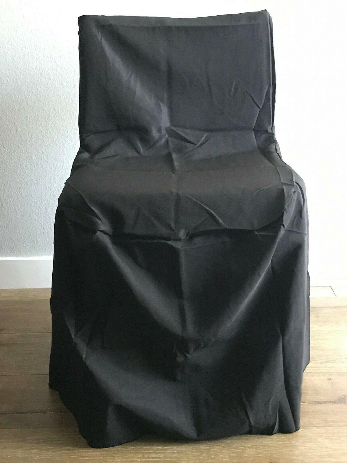 Polyester Folding Chair Slip Covers Available In Colors Party