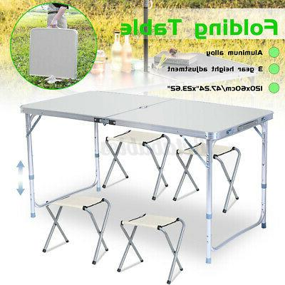 portable folding table desk chair indoor outdoor