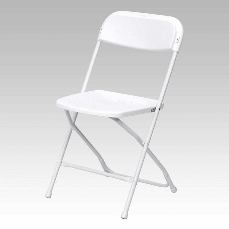 premium plastic folding chair lightweight mid contoured
