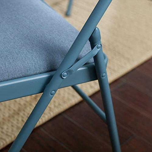 Meco Deluxe Double Back- Piece Table Blue