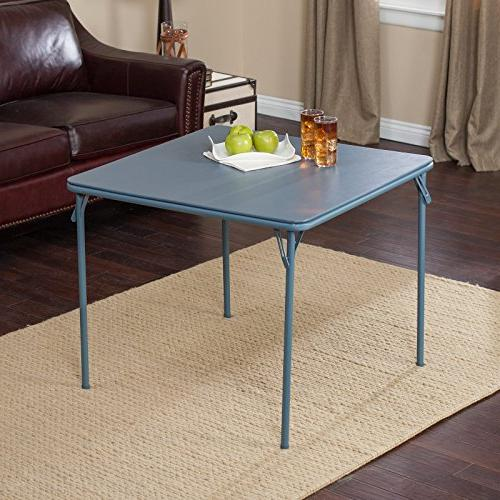 Meco Sudden Deluxe Double Back- Table Set - Blue