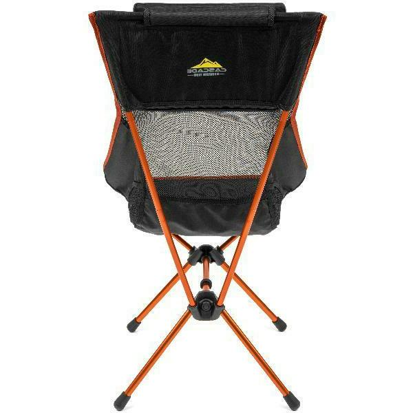 Cascade Mountain Ultralight High 250 Capacity Black
