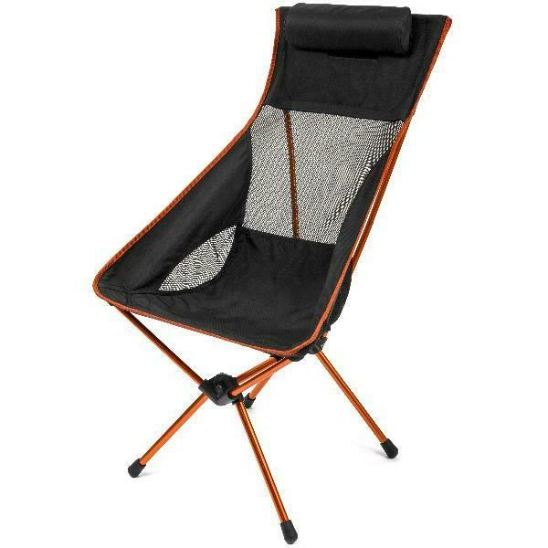 ultralight high back camp chair 250 lbs