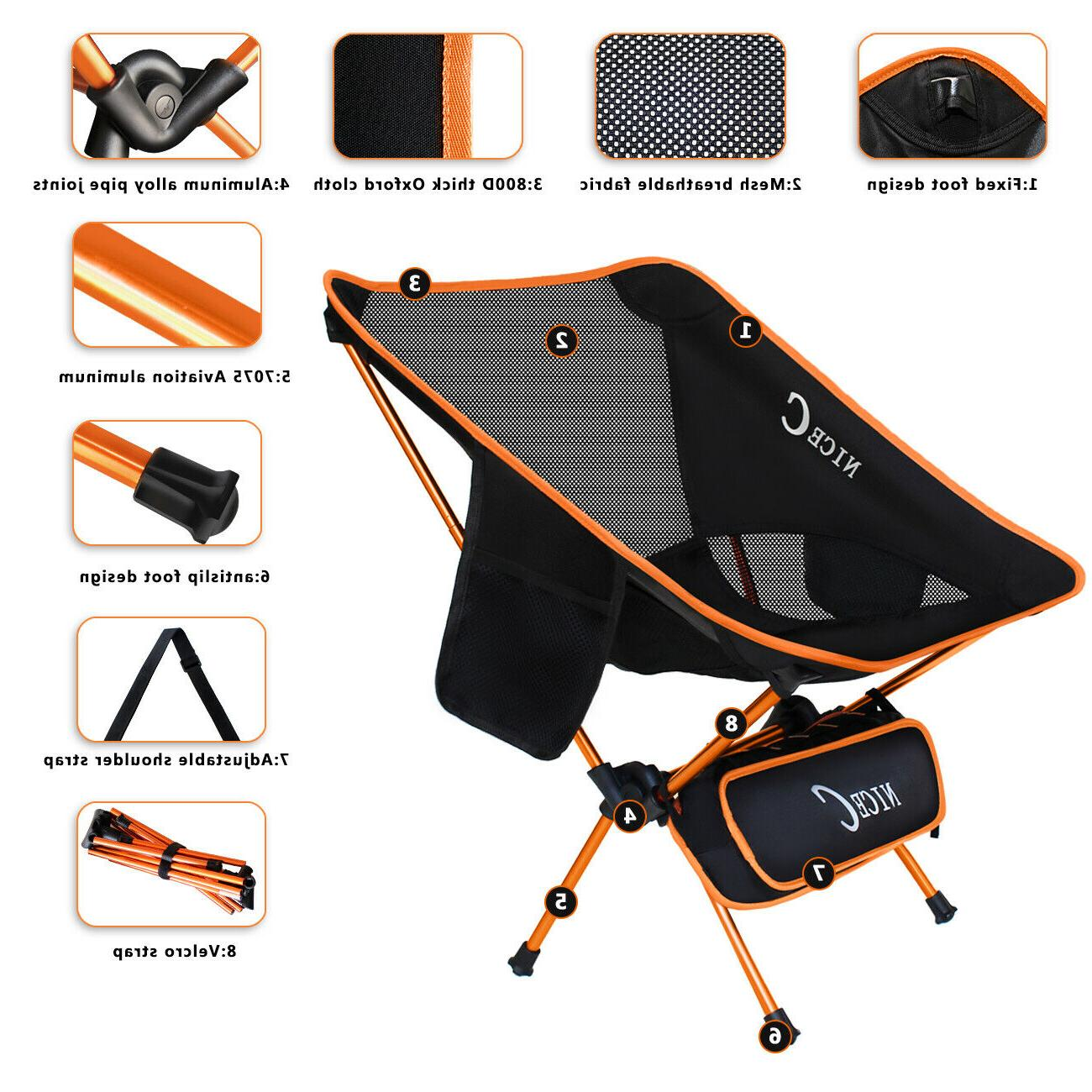 Backpacking Chair 2 Bags