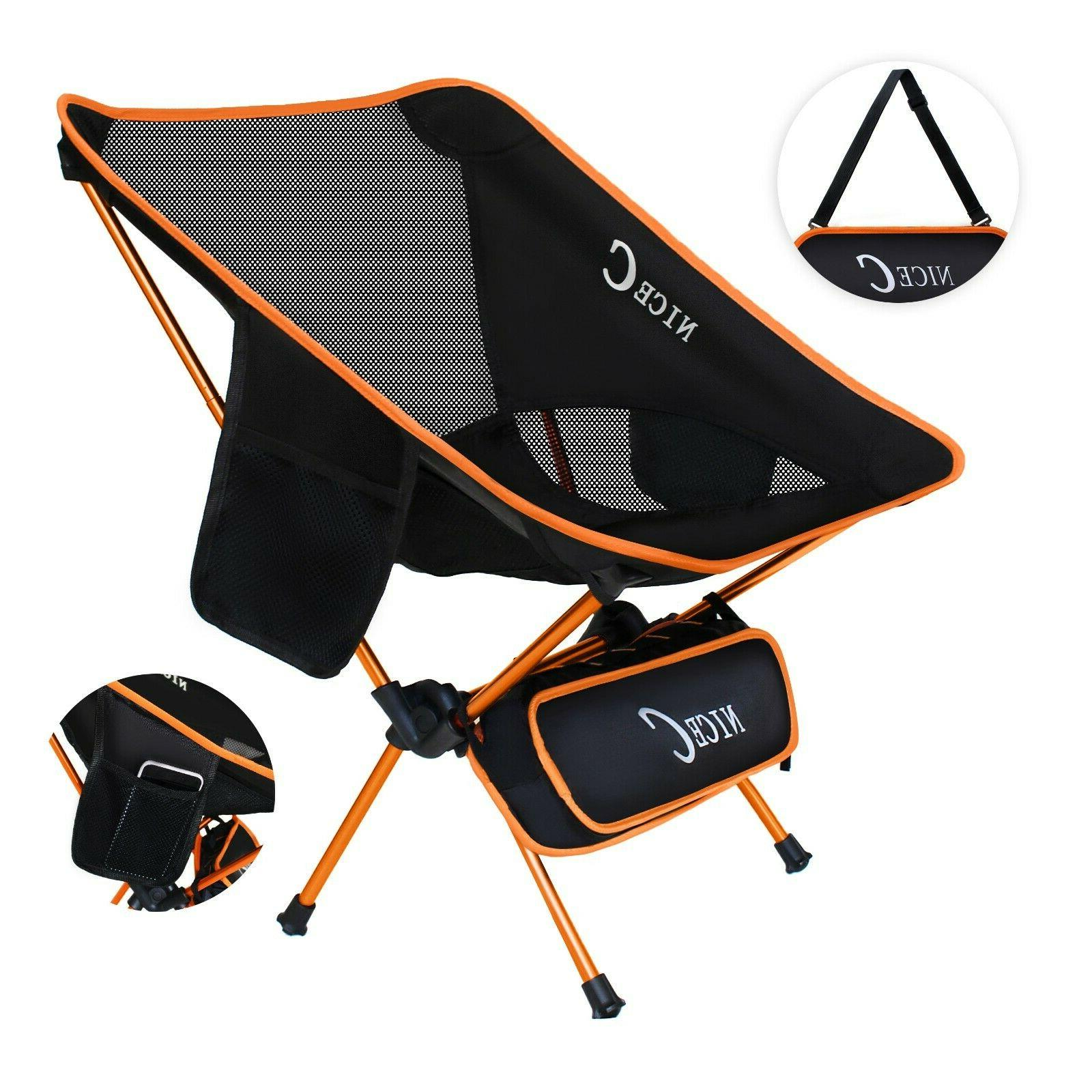 ultralight portable folding backpacking camping chair