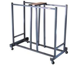 Lifetime Universal Folding Chair Rolling Storage Cart 6525 F
