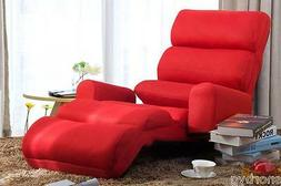 Living Room Chaise Lounge Sofa Chair w/ Pillow Furniture Bed