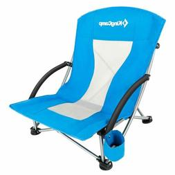 KingCamp Low Sling Beach Camping Concert Folding Chair,soft