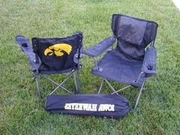 Rivalry NCAA Iowa Hawkeyes Youth Folding Chair With Carrying