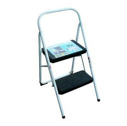 New Extra Durable Portable Folding 2-STEP Ladder Stool Chair