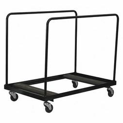 FLASH FURNITURE NG-DY60-GG Dolly for Round Fold Tables,Blk