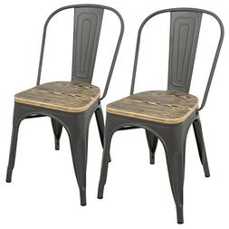Oregon Aged Wood Dining Chair