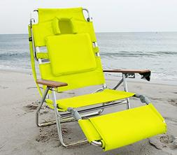 Ostrich Deluxe Face Down 3 In 1 Beach Chair - Green
