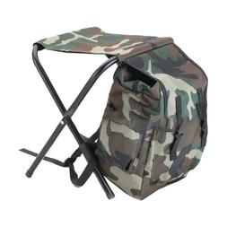 Outdoor Mountaineering Fishing Foldable Carry Stool Chair wi
