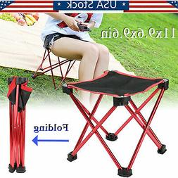 Portable Folding Chair Tripod Camping Fishing Stool Lightwei