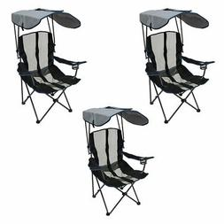 Kelsyus Premium Portable Camping Folding Lawn Chair with Can