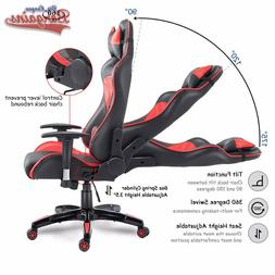 Racer Gaming Chair Fully Reclinable Racing Ergonomic Bucket