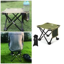 Small Chair With Carry Bag Folding Portable Stool Camping Ou