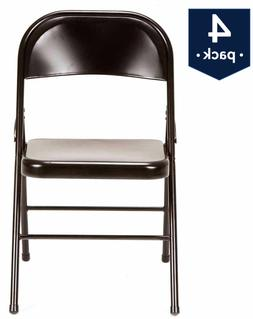 Mainstays Steel Folding Chair , Black