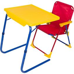 Table Mate 4 Kids Table Chair Carry Case  Desk Travel Yellow