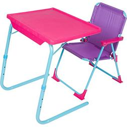 Table-Mate 4 Kids Plastic Folding Table and Chair Set